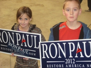 The future and present generations of Americans securing Liberty.
